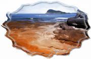 Do-00016 Pearl Beach-tidal Baths Print by Digital Oil