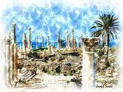 Digital Oil - DO-00550 Ruins And...