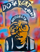 Discrimination Painting Metal Prints - Do The Right Thing Metal Print by Tony B Conscious
