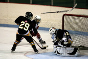 Youth Hockey Photos - Do you believe in miracles by Tya Kottler