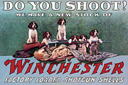 Winchester Posters - Do You Shoot Poster by Unknown