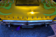 Gold Ford Photos - Do You Think Its A Thunderbird by Joetta West