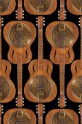 Strings Digital Art Acrylic Prints - Dobro 4 Acrylic Print by Mike McGlothlen