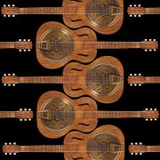 Abstract Music Digital Art - Dobro 6 by Mike McGlothlen