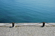 Dock Photos - Dock Chain By Pavement by Photography by Kvin Niglaut