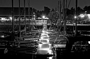 Soiree Metal Prints - Dock  Quai Metal Print by Nicole  Cloutier Photographie Evolution Photography