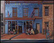 Edward Williams Art - Dock Street-Annapolis by Edward Williams