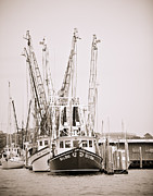 Donny Metal Prints - Docked Metal Print by Donni Mac