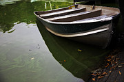 Rowboat Photos - Docked in Central Park by Madeline Ellis
