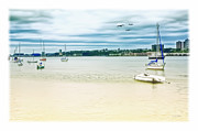 City Scape Metal Prints - Docked On The Hudson Metal Print by Tom York