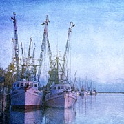 Christine Annas Art - Dockside on the Darien by Christine Annas