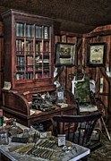 Novel Art - Doctors Office by Susan Candelario