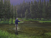 Fishing Creek Prints - Doctors Orders Print by Joe Mancuso