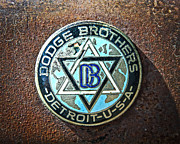 1928 Dodge Brothers Photos - Dodge Brothers Badge by Steve McKinzie
