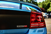 Super Bee Posters - Dodge Charger SRT8 rear Poster by Paul Ward