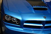 2007 Framed Prints - Dodge Charger SRT8 Super Bee Framed Print by Paul Ward