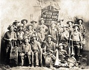 1880s Photos - Dodge City Cow-boy Band by Everett