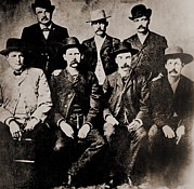 Lawmen Prints - Dodge City Peace Commissioners Print by Everett