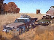 Antiques Paintings - Dodge Country by Tate Hamilton