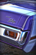 Dean Digital Art Originals - Dodge Dart Swinger by Gordon Dean II
