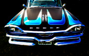 Custom Automobile Framed Prints - Dodged Framed Print by Phil 