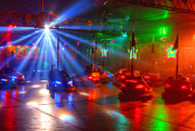 Strobe Art - Dodgems by Rob Hawkins