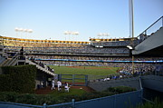 Dodger Stadium Photos - Dodgers left field by David Donan