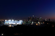 Dodger Stadium Photos - Dodgers Stadium by Christina Czybik