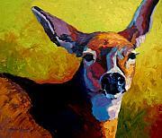 Doe Portrait V Print by Marion Rose