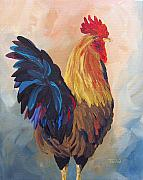 Hen Paintings - Does This Make My Butt Look Big by Torrie Smiley