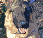 Puppies Photo Originals - Dog 1 by Bill Owen