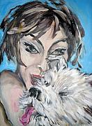 Puppy Mixed Media - Dog and Diva by Jenni Walford