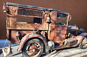 Truck Detail Prints - Dog Catcher Print by Bill Dutting