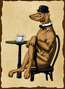 Victorian Digital Art - Dog Day Afternoon by Rob Snow
