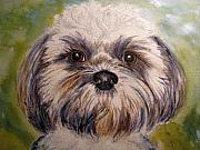 Frances Gillotti - Dog Painting