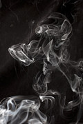 Shapes Photo Prints - Dog Smoke Print by Garry Gay