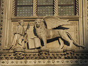 St. Mark Photos - Doge and Lion. Venice by Bernard Jaubert