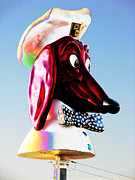 Samuel Sheats Metal Prints - Doggie Diner Sign Metal Print by Samuel Sheats