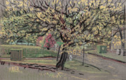 Industrial Pastels Originals - Dogwood by Donald Maier