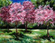 Diane Kraudelt Art - Dogwoods In Bloom by Diane Kraudelt