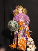 Etc. Mixed Media - Doll 2  by HollyWood Creation By linda zanini