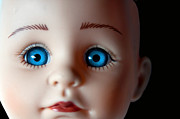 Doll Photos - Doll Eyes by Dan Holm