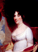 First-lady Prints - Dolley Madison 1768-1849, First Lady Print by Everett