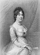 19th Century America Metal Prints - Dolley Madison (1768-1849) Metal Print by Granger