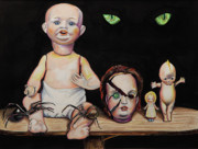 Goth Originals - Dolls and Spiders by Chris Benice