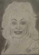 Dolly Parton Framed Prints - Dolly Parton Framed Print by Manuela Constantin