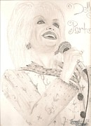Dolly Parton Prints - Dolly Parton Print by Art of the Maverick