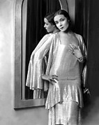 Dolores Photo Framed Prints - Dolores Del Rio, 1929 Framed Print by Everett