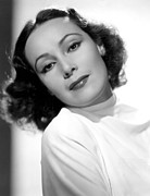 Del Rio Photo Acrylic Prints - Dolores Del Rio, Fox Film Corp, 1930s Acrylic Print by Everett