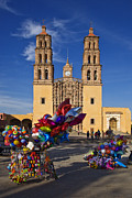 Verticals Prints - Dolores Hidalgo Cathedral  Print by Craig Lovell